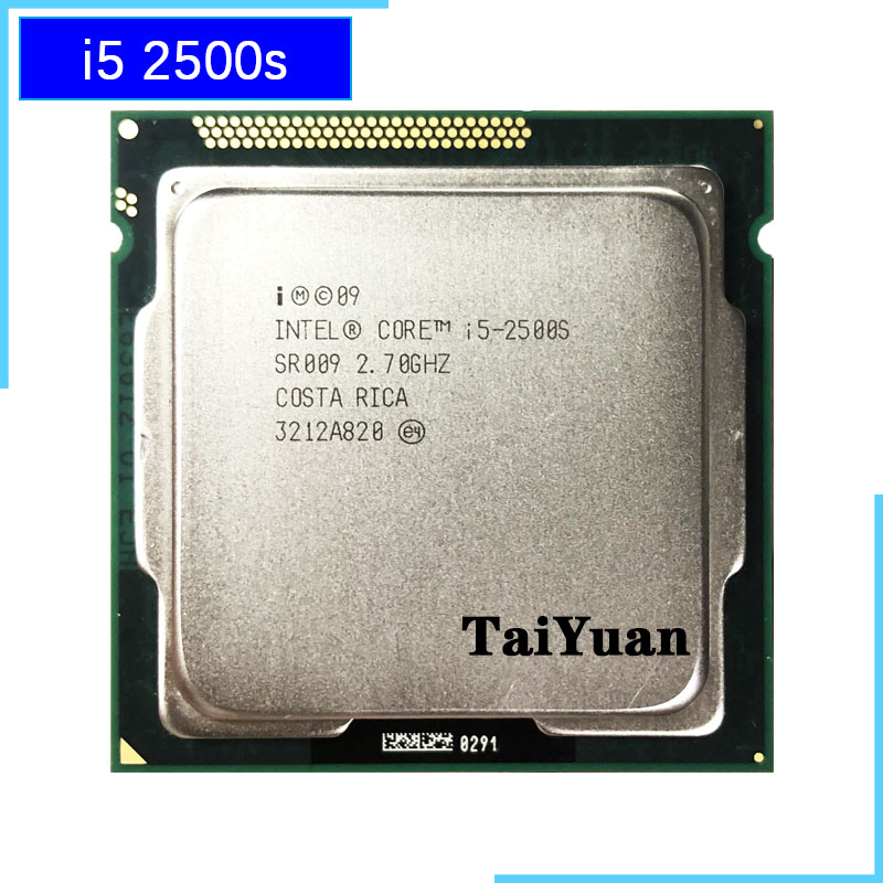 Intel Core i5 2500S i5 2500S 2 7 GHz Quad Core CPU Processor 6M 65W LGA