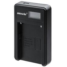 SEIWEI NPFM50 Батареи USB Зарядное Устройство с ЖК-Экран для Sony NP-FM50/70/90/QM71D/91D NP-FM500H/FM55H NP-F550/F750/F960/F970 камера