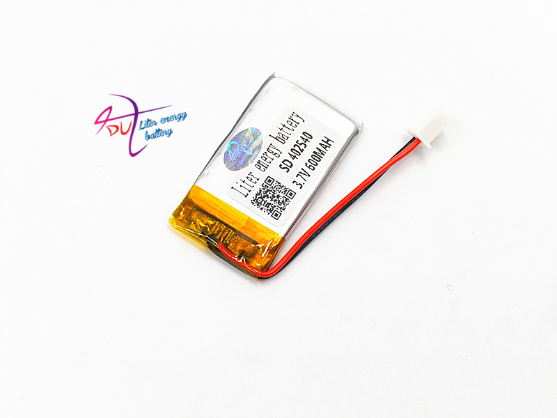 XHR-2P 2.54 <font><b>402540</b></font> 3.7V 600MAH Lithium Polymer Li-Po li ion Rechargeable Battery cells For Mp3 MP4 MP5 GPS mobile bluetooth image