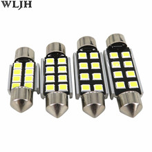 4pcs CANbus 12V 31mm 36mm 39mm 41mm C5W C10W 2835 Led Car Light Bulb For Audi Volkswagen Mercedes-Benz BMW E36 E39 E46 E90 E60