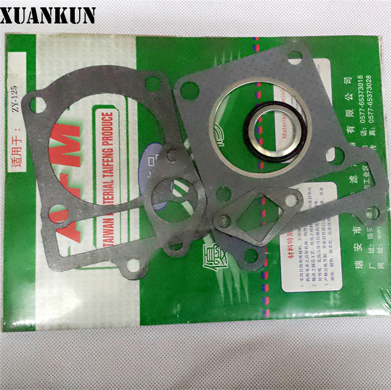 XUANKUN Motorcycle ZY125T Mattress FY125T Cylinder Pad Up And Down Cylinder Pad Repair Kits