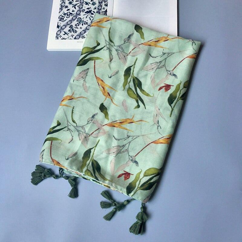 Shami e gjelbër pambuku e grave IANUS lë model të madh - Aksesorë veshjesh - Foto 4