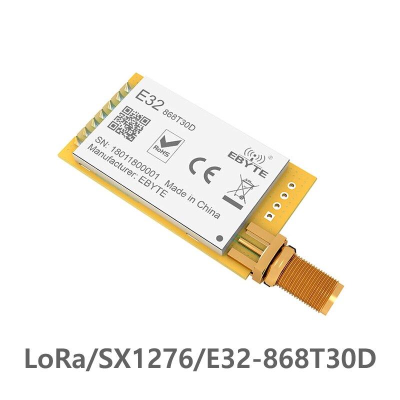 E32-868T30D LoRa 868 MHz SX1276 lora 868 ebyte longue portée 8000 m UART 1 W 868 MHz iot rf émetteur et récepteur sans fil