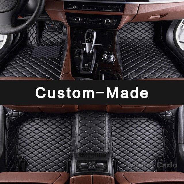 Custom made car floor mats for Porsche Cayman boxster 986 987 981 718 GTS GT4 RS60 Spyder Cayenne Cayman Panamera 911  carpet