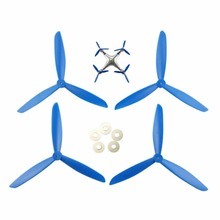 BLL aircraft parts accessories propeller blades blue for SYMA X8 X8C X8G X8W X8HC X8HW RC airplane