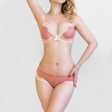 bd4b8b096e18 classic design comfort wire free thin cup bra panties set New Arrival  underwear set lace lingerie