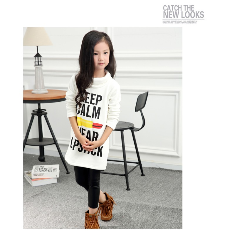Girls Long T-shirts Dresses 01 (2)