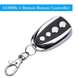 Image 2 - Sıcak satış evrensel ABCD anahtar kontrolü 433.92MHZ uzaktan klonlama 4 kanallı otomatik araba garaj kapısı teksir haddeleme kodu araba