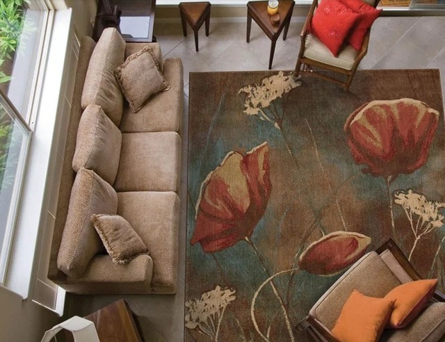 Amerikaanse trend post moderen art schilderij tapijt woonkamer