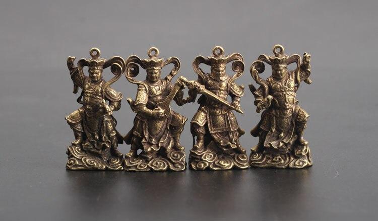 Buddha Statue keychain pendants (4)