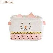 20*16*14cm Cute Cosmetic Organizer Fabric Cartoon Stationery