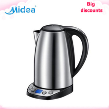 Midea thermo Electric Kettle 220v portable kettle Fast heating cold water Anti-dry and auto-off electric tea pot home appliances