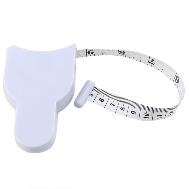1.5M Fitness Accurate Caliper Measuring Tape Body Fat Weight Loss Measure Retractable Ruler Accessories