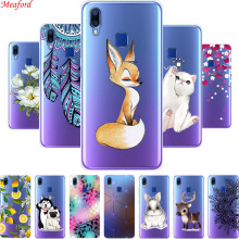 Case For VIVO Y91 Y95 Case 6.22 Soft TPU Silicone Clear Back Cover For VIVO Y95 Y91 Case Coque Y 95 Y 91 VIVOY95 VIVOY95 Funda vivo y91 case cover for vivo y91 magnetic finger ring phone case shell bumper protective hard pc armor case for vivo y91 y95