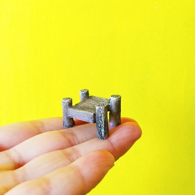Sale Mini Trestle Bridge Miniatures Lovely Cute Fairy Garden Gnome