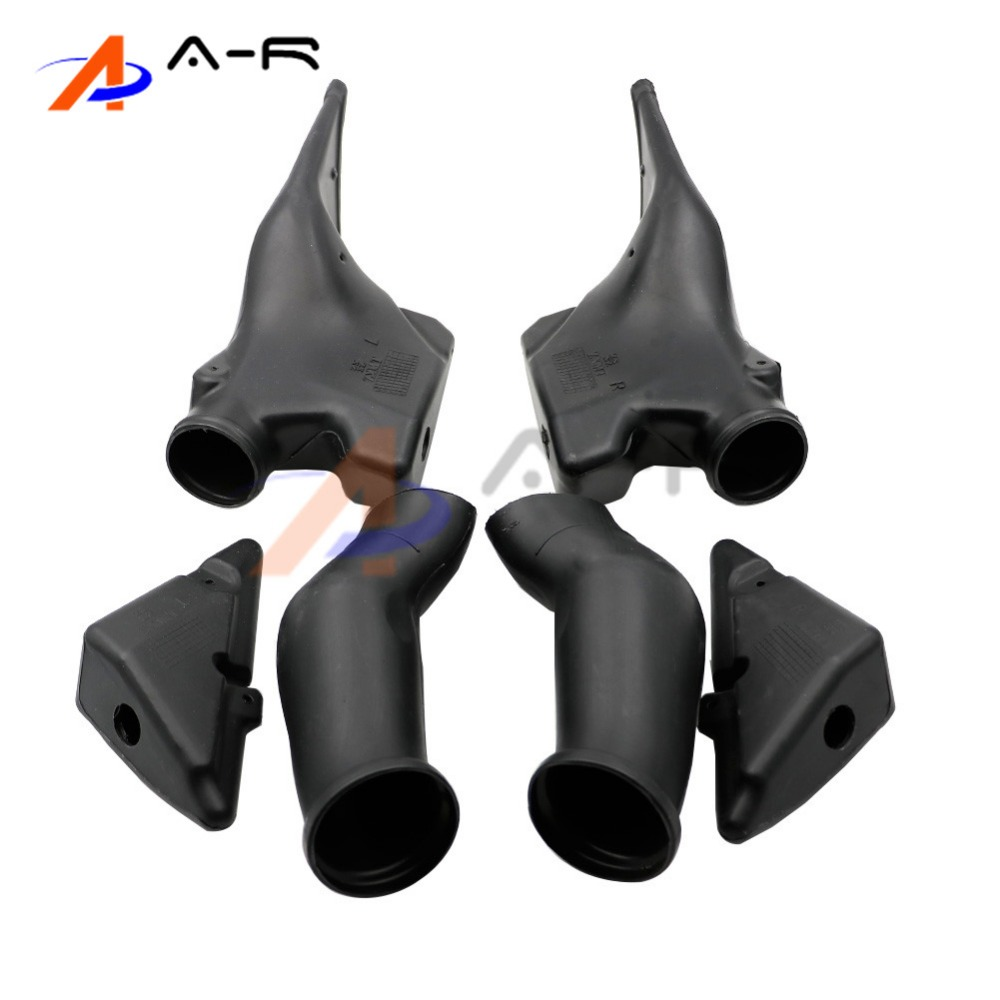 Motorcycle Ram Air Intake Tube Duct For Honda CBR600RR F5 2005 2006 CBR 600RR 05 06 CBR600 RR Motorcycle Spare Replacement Parts frp fiber glass front headlight vented air duct cover replacement lhs tuning parts for nissan skyline r32 gtr gts