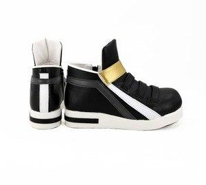 Image 4 - Обувь для косплея игры LOL KDA Akali, сапоги для косплея Akali для взрослых, женская черная обувь