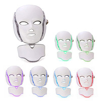 Seven color Light Led Color Mask PDT Photodynamic Photon Rejuvenation Home Phototherapy Mask Beauty Instrument