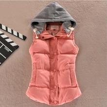 Zogaa Hot New Fashion Brand Spring Autumn Slim Velvet Women Vest Jacket Warm Cotton Winter Plus Size Waistcoat Female 4XL