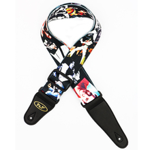 Elvis Presley Pattern Guitar Strap Electric Guitar Acoustic Guitar Folk Guitar Bass Strap