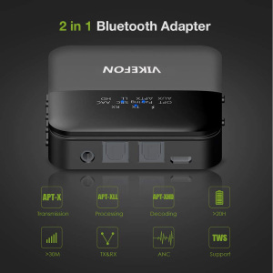 Image 4 - Bluetooth 5.0 Audio Transmitter Receiver Music CSR8675 AptX HD LL Low Latency TV PC Bt Wireless Adapter RCA/SPDIF/3.5mm Aux Jack