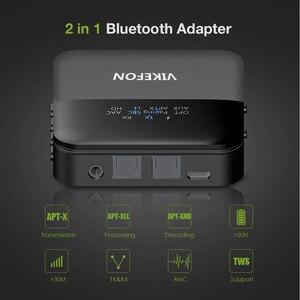 Image 4 - Bluetooth 5,0 аудио передатчик приемник Музыка CSR8675 AptX HD LL низкая задержка ТВ ПК Bt беспроводной адаптер RCA/SPDIF/3,5 мм разъем Aux