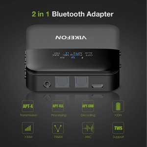 Image 4 - Bluetooth 5.0オーディオトランスミッタレシーバ音楽CSR8675 aptx hd ll低レイテンシテレビpc btワイヤレスアダプタrca/spdif/3.5ミリメートルauxジャック