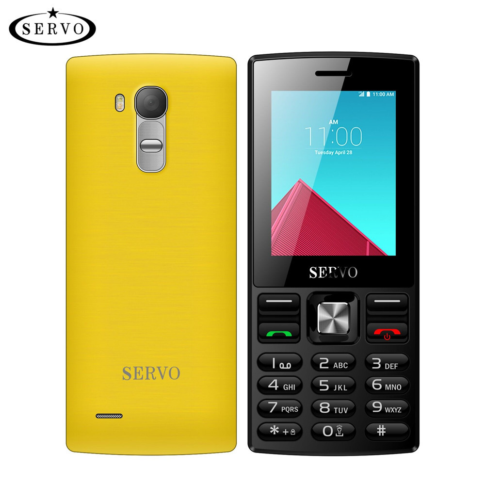 "Original SERVO V9300 Phone Quad Band 2.4"" Screen Dual SIM Cards Cellp"