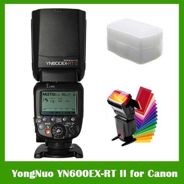 YONGNUO YN600EX-RT II 2.4G Wireless HSS 1/8000s Master TTL Flash Speedlite for Canon Camera as 600EX-RT YN600EX RT II вспышка для фотокамеры yongnuo speedlite yn600ex rt canon 600ex rt 2 4g hss 1 8000s speedlite yn600ex rt