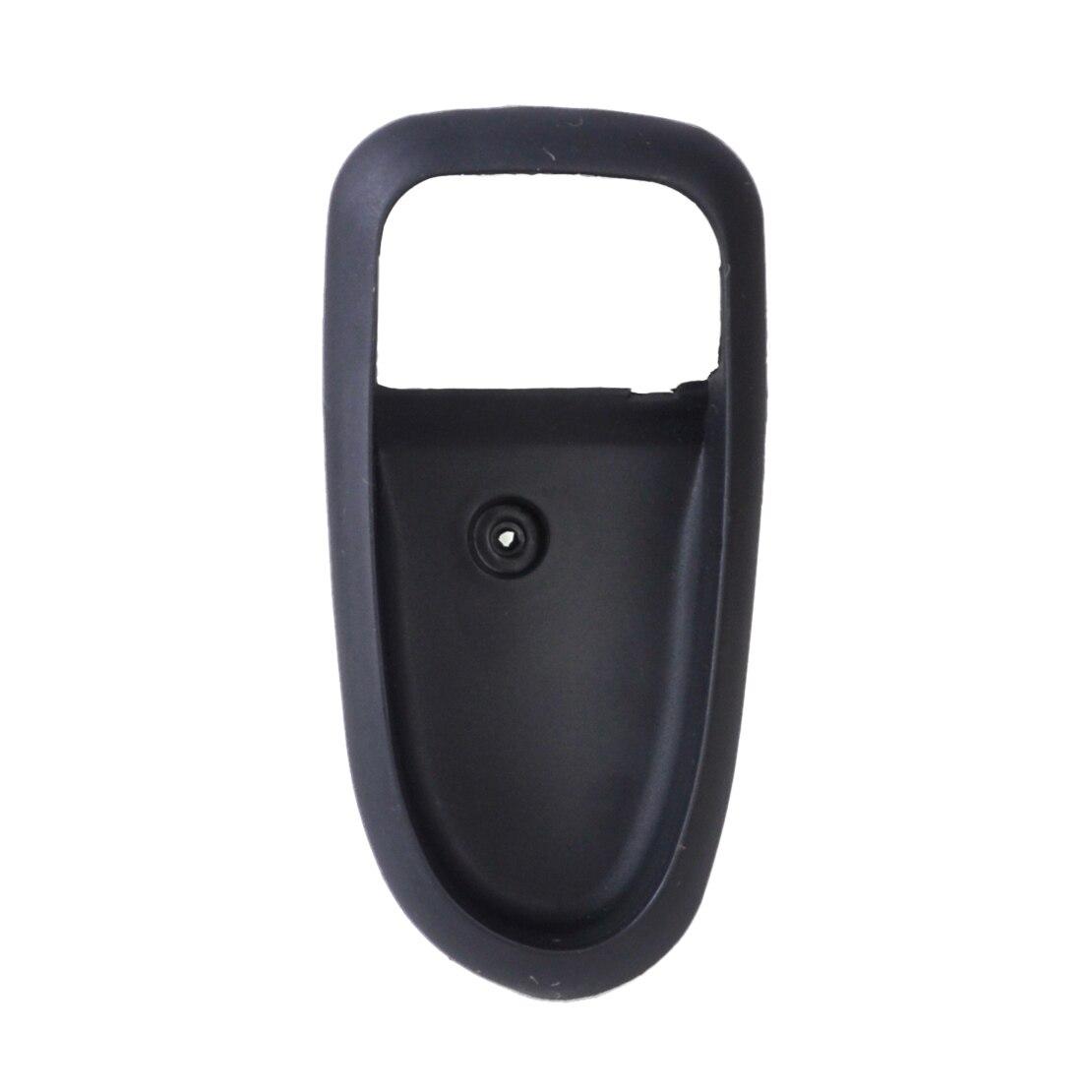 Dwcx New Black Right Inside Interior Door Handle Trim Cover Bezel Housing Assembly For Hyundai