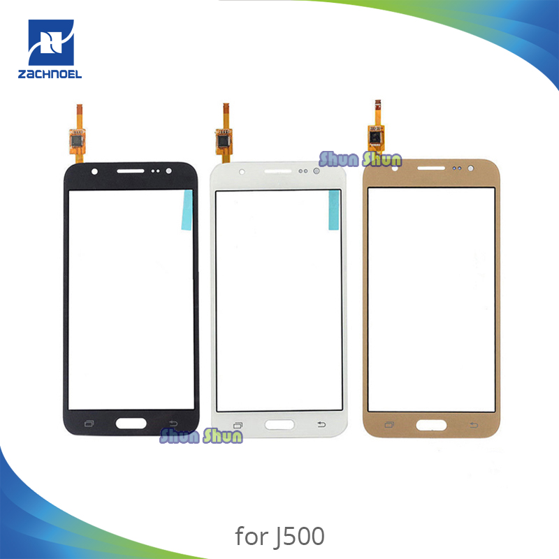5.0'' Screen for Samsung Galaxy J5 J500 SM-J500FN J500F Touch Screen Digitizer Sensor Front Glass Lens Black White Gold