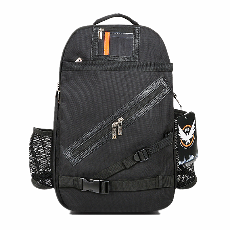 Nouveau sac à dos noir Tom Clancy's The Division sac à dos SHD Division sac à dos Agent Go édition Collector sac à bandoulière trval