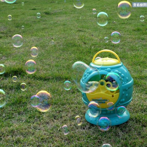 Electronic-automatic-bubble-machine-blue-plastic-bubble-blowing-soap-bubbles-baby-toys-2