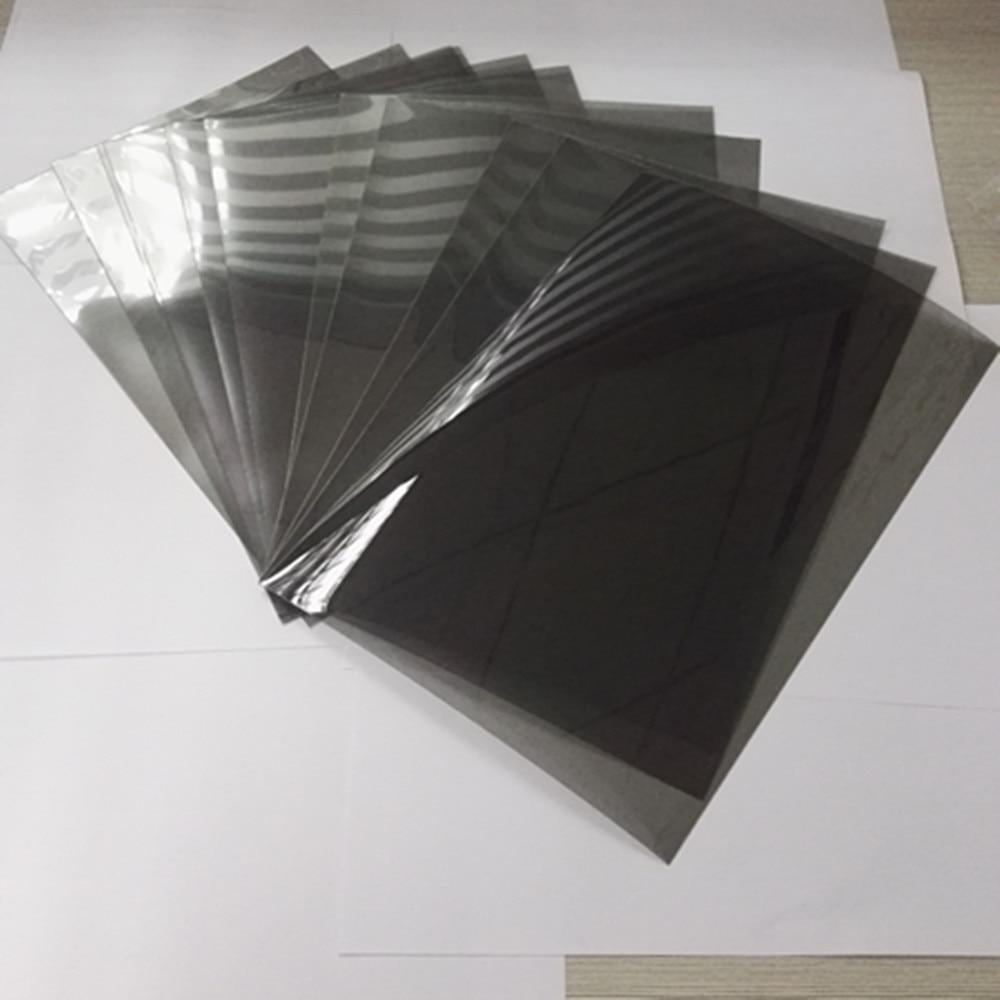 1 piezas 30 20 cm Horizontal 0 grado película polarizador para LCD lineales  polarizadas filtro polarizado lineal polarización película hojas en 3D ... c113649f15