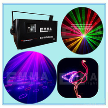 Free shipping,Black Mini Projector Red & Green Blue DJ Disco Light Stage Xmas Party Laser Lighting Show