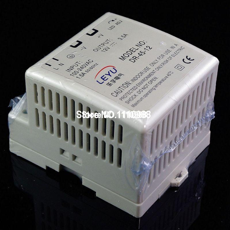 New 45W Din Rail Mounted 12VDC 3.5A Output Industrical Power supply Supplier