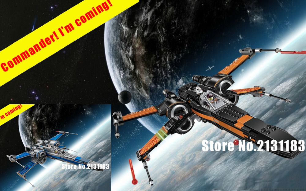 2018 Star wars First Order Poe's X-wing Fighter model building block kits bricks boys 75102 compatible legoes gift kid star wars hot sale building blocks assembled star first wars order poe s x toys wing fighter compatible lepins educational toys diy gift