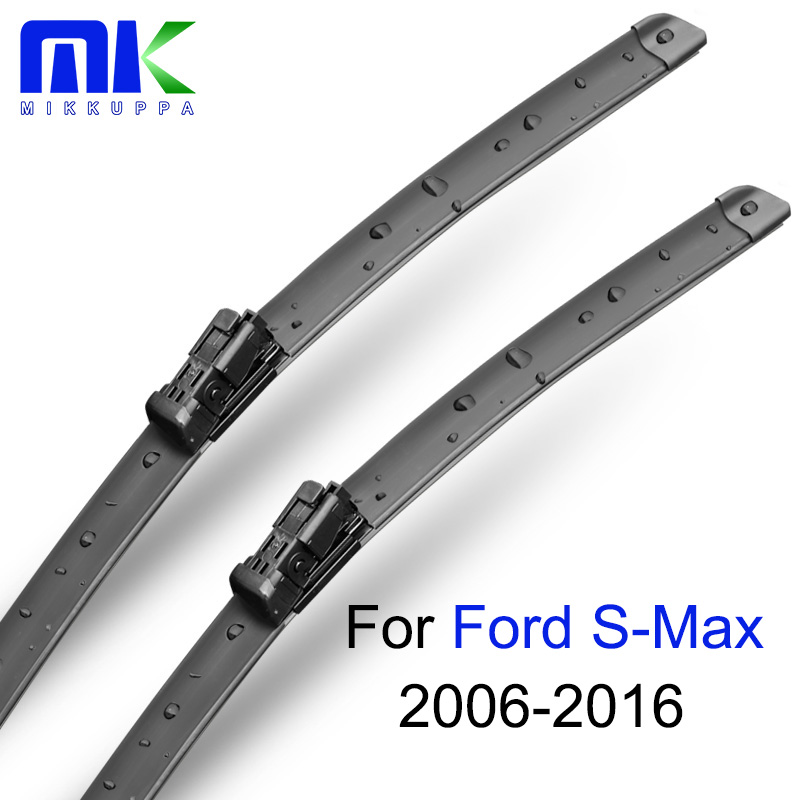 Mikkuppa Wiper Blades For Ford S-Max 2006-2016 Pair 30