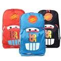HOT VENDA nova chegada 3 cores saco de Escola Carros Crianças mochilas infantis Meninos Meninas sacos de bebê escola do jardim de infância mochila