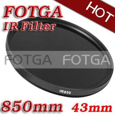 Hurtownie filtr podczerwieni 43mm 850nm podczerwieni X Ray filtr podczerwieni 43mm 850nm