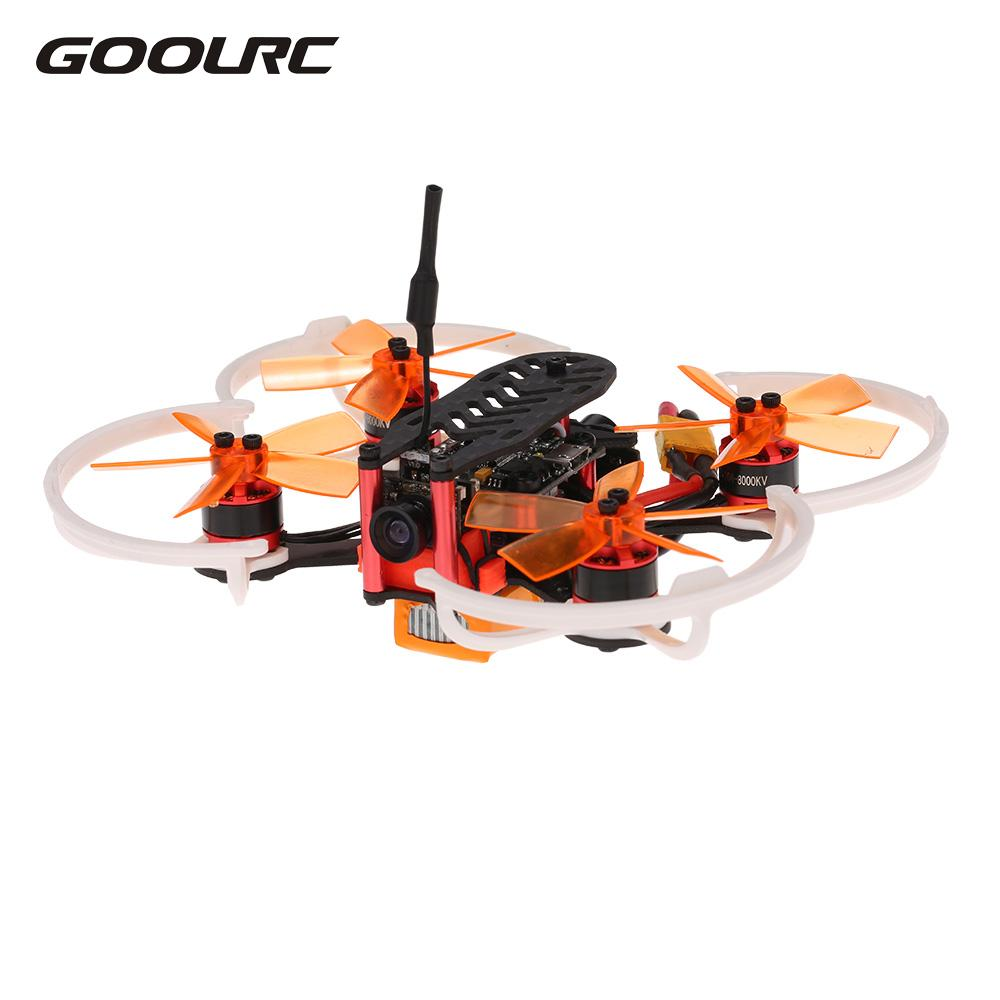 GOOLRC Professional RC Quadcopters Drones 5.8G 48CH Micro FPV Camera HD Racing Drone with Brushless Motor F3 Receiver Aircrafts rc drones quadrotor plane rtf carbon fiber fpv drone with camera hd quadcopter for qav250 frame flysky fs i6 dron helicopter