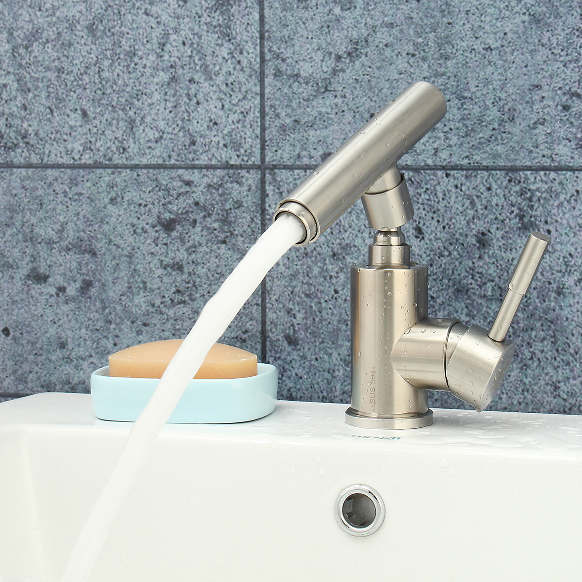 Single Handle Deck Mounted Hot and Cold Water Tap Faucet Spout Bathroom Basin Bathtub Waterfall Faucet Mixer Tap Water Filter цены