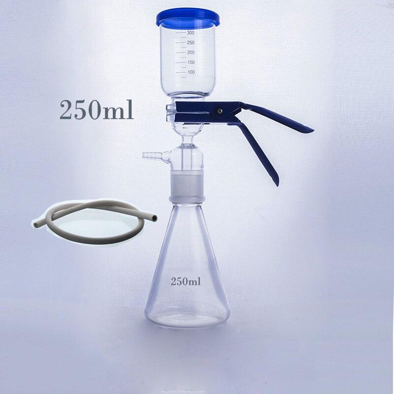 250ml Vacuum Filtration Apparatus,membrane Filter,Sand-Core Filter Equipment