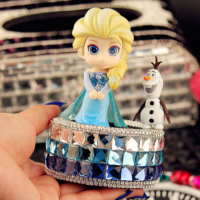 Frozen Car Seat Perfume Diamond Crystal Ornaments Accessories Supplies Female