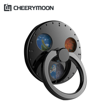 CHEERYMOON Round Gyro Spinner Bracket Metal Ring Holder Smartphone Tabl