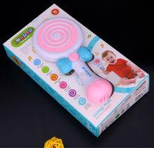 Lollipop качели музыкальные игрушки фортепианной музыки Игрушечные лошадки восемь весы петли, барабан комплект развивающие игрушки со светом