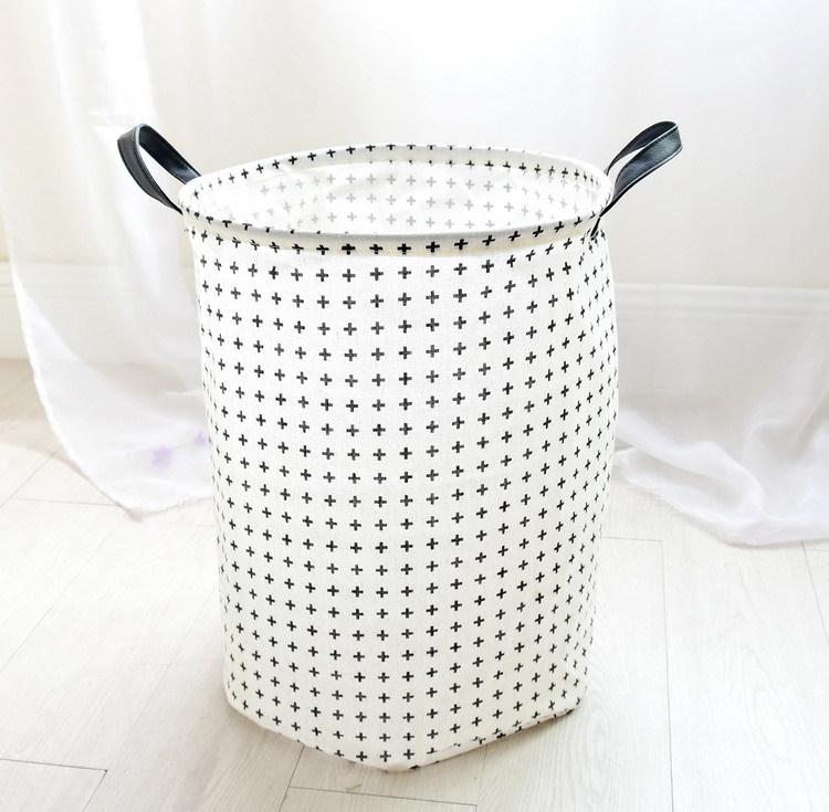 Laundry Basket 35*45 CM Sundries Storage Container Folding Storage Basket Toys Home Clothes Storage Bag Clothes Organizer 13