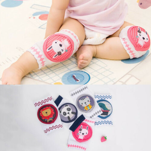 1Pair Baby Knee Pad Kids Safety Crawling Elbow Cushion Infants Toddler Leg Warmer Baby Knee Sleeve Pads Protector
