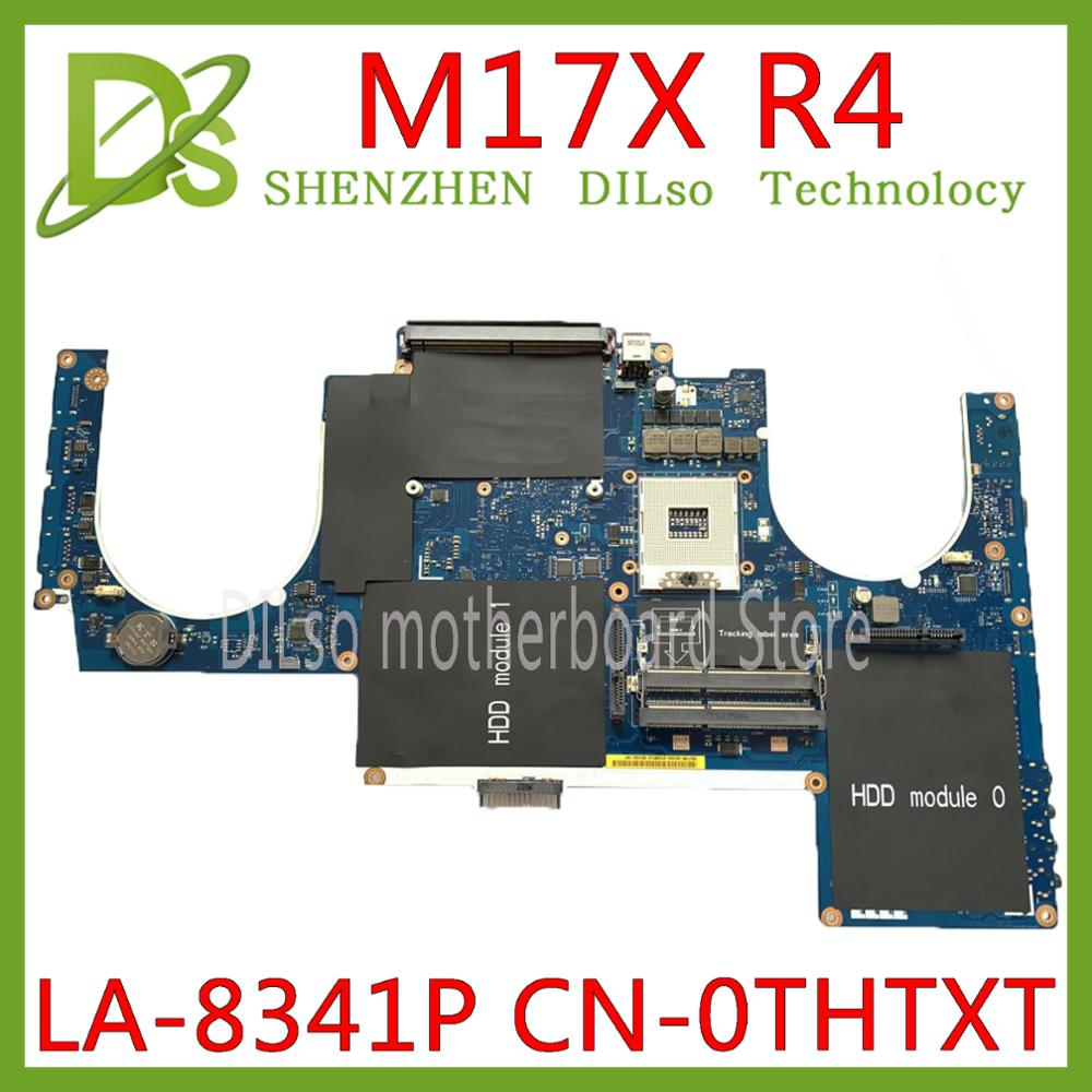 KEFU QBR00 LA-8341P Motherboard For DELL Alienware M17X R4 PC Laptop Mainboard CN-0THTXT 0THTXT THTXT DDR3 Original Tested