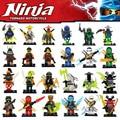 Decool figuras ninjagoed cole jay kai lloyd nya skylor zane pythor chen compatible con lepin bloques de construcción de ladrillos de juguete